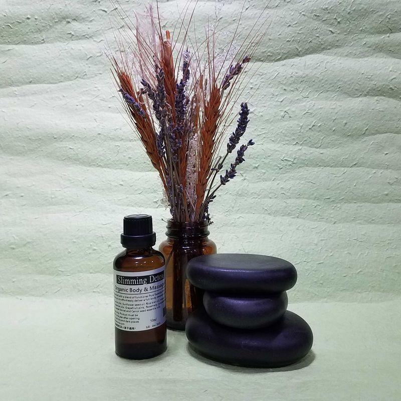 Organic Slimming Detox  Body & Massage Oil  (50ml)