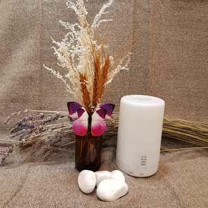 【Ultrasonic Aroma Diffuser】 容量: 300ml