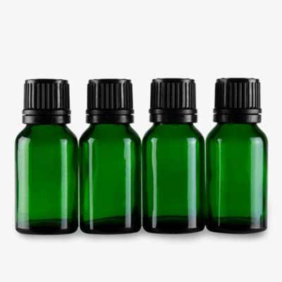 30ml 綠色精油玻璃瓶 (5支)